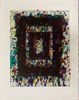 Concert Hall Set I AP 1977 Limited Edition Print by Sam Francis - 1