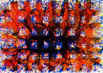 Untitled (Sf-255, L-237) AP 1979 Limited Edition Print - Sam Francis