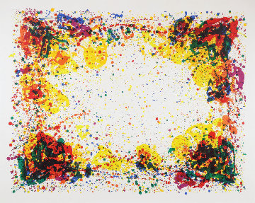 Ariel's Ring 1972 Limited Edition Print by Sam Francis