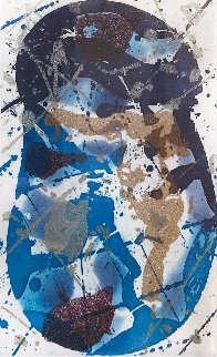 Untitled Aquatint AP  1985 Limited Edition Print - Sam Francis