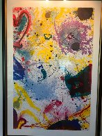 Untitled Lithograph 1992 Super Huge Limited Edition Print by Sam Francis - 1