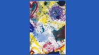 Untitled Lithograph 1992 Super Huge Limited Edition Print by Sam Francis - 6