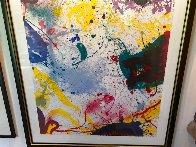 Untitled Lithograph 1992 Super Huge Limited Edition Print by Sam Francis - 2