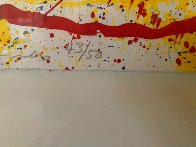 Untitled Lithograph 1992 Super Huge Limited Edition Print by Sam Francis - 3