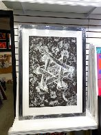 Untitled Star of David 1985 53x43 Huge  Limited Edition Print by Sam Francis - 1