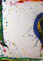Untitled, From Poemes Dans Le Ciel 1986 Limited Edition Print - Sam Francis