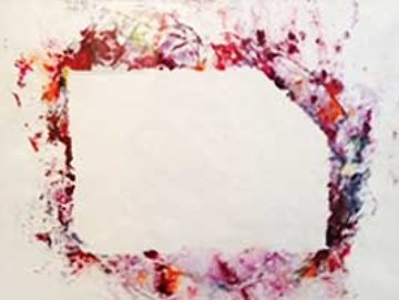 Untitled Unique Monotype SF-218S 35x27 Works on Paper (not prints) - Sam Francis