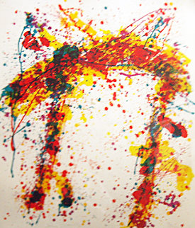 Towards Disapearance 1973 Limited Edition Print - Sam Francis