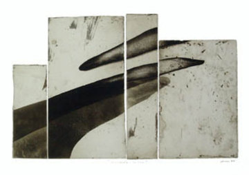 Fragments/shadows 1991 Limited Edition Print - Francisco Ferro