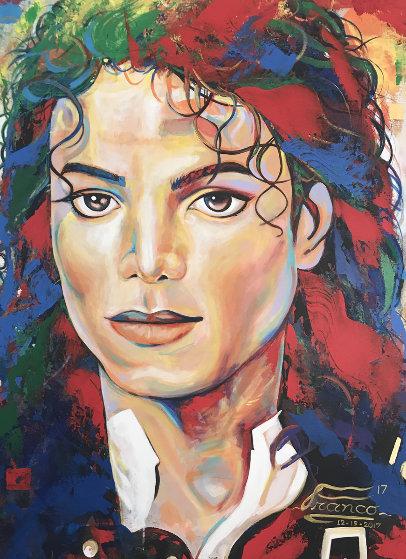 Michael Jackson   2017 48x36 Original Painting by Alexander Franco