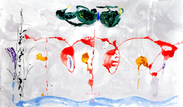 Aerie 2009 Limited Edition Print by Helen Frankenthaler