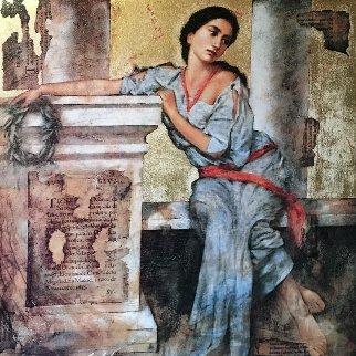 Goddess of Dawn Embellished 1997 Limited Edition Print by Richard Franklin