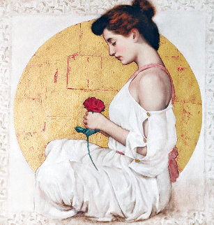 Mystic Rose 1997 Embellished Limited Edition Print - Richard Franklin