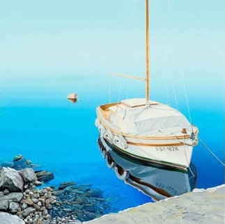 Tranquil Harbor Limited Edition Print - Frane Mlinar
