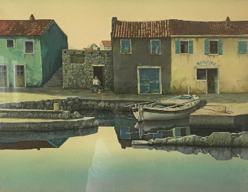 Peaceful Dawn 1992 Limited Edition Print - Frane Mlinar