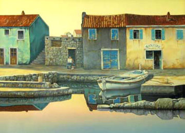 Peaceful Dawn 36x46 Super Huge  Limited Edition Print - Frane Mlinar