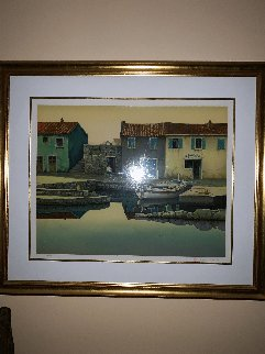 Peaceful Dawn and Summer Set of 2  Limited Edition Print - Frane Mlinar