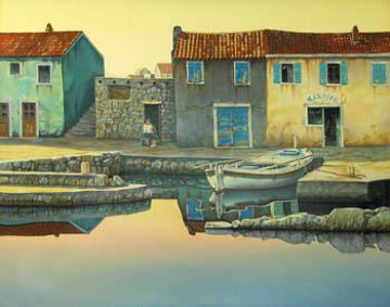 Peaceful Dawn AP 1992 Limited Edition Print - Frane Mlinar