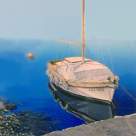Tranquil Harbor AP 1992 Limited Edition Print by Frane Mlinar