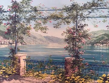 Lake Como 1997 Limited Edition Print - Liliana Frasca