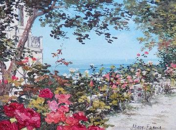 Sorento 17x21 Original Painting - Liliana Frasca