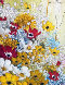 French Bouquet 1973 19x16  Original Painting by Liliana Frasca - 0