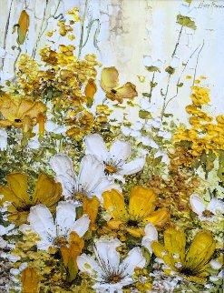 Spring 1972 21x25 Original Painting - Liliana Frasca