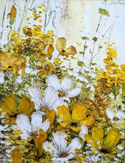 Spring 1972 21x25 Original Painting by Liliana Frasca
