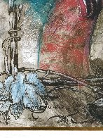 Femme Du Soir 67x55 Huge Original Painting by Francois Fressinier - 2