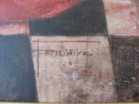 In Tempo 2004 40x49 Super Huge Original Painting by Francois Fressinier - 4