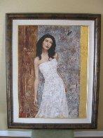 Hidden Beauty 2004 50x40 Huge Original Painting by Francois Fressinier - 1