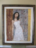 Hidden Beauty 2004 50x40 Super Huge Original Painting by Francois Fressinier - 1