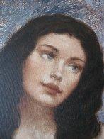 Hidden Beauty 2004 50x40 Super Huge Original Painting by Francois Fressinier - 2