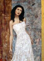 Hidden Beauty 2004 50x40 Huge Original Painting by Francois Fressinier - 0