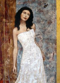 Hidden Beauty 2004 50x40 Huge Original Painting - Francois Fressinier