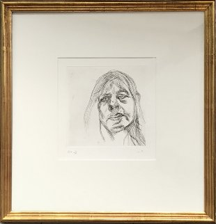 Head of a Woman AP 1982 Limited Edition Print - Lucian Freud