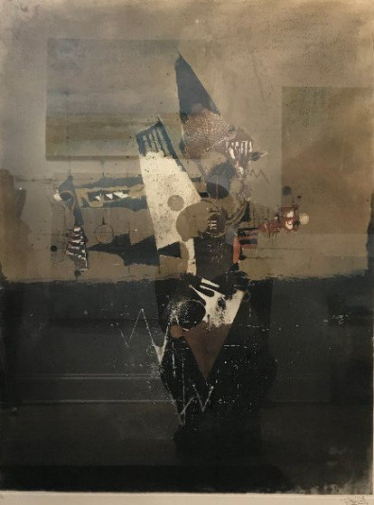 Counterpoints 1977 Limited Edition Print by Johnny Friedlander