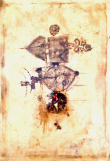 Untitled Colored Etching  Limited Edition Print - Johnny Friedlander