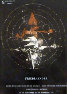 Europalia Poster 1975 HS  Limited Edition Print - Johnny Friedlander