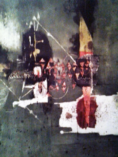 Sur Fond Vert #1  Limited Edition Print - Johnny Friedlander