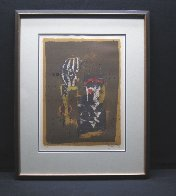 Untitled Lithograph 1970 Limited Edition Print by Johnny Friedlander - 1