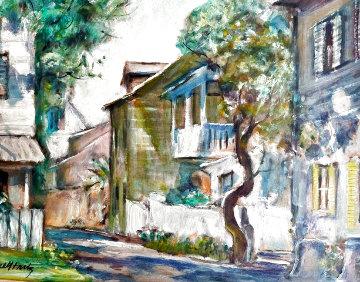 Marine Street 16x18 Original Painting - Emmett Fritz