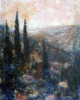 Cedar Glow 36x24 Original Painting by Art Fronckowiak