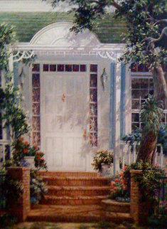 Grand Entrance 46x34 Super Huge Original Painting - Art Fronckowiak