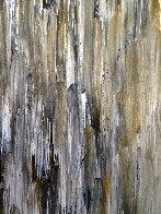 Untitled Musician 1973  49x36 Super Huge Original Painting by Luigi Fumagalli - 4