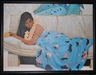Leilani 34x43 Huge Original Painting by Luigi Fumagalli - 1
