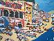 Untitled Italy 1980 36x46 Original Painting by Luigi Fumagalli - 0