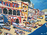 Untitled Italy 1980 36x46 Original Painting by Luigi Fumagalli - 0
