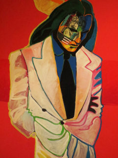 Century Man 58x46 Original Painting - Malcolm Furlow