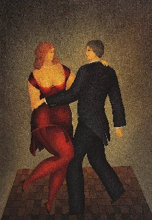 Dancers 2005 40x30 Original Painting - Igor Galanin